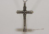 mtj030 Sterling Silver Cross Design Men&#39s Pendant