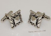 mtj036 Sterling Silver Rectangle Design Cufflinks Men&#39s Jewelery