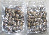 oyster010 Mix 120PCS  vacuum-packed  pearl oysters with round pearls in mix size and mix color