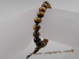 pb009 8mm Stunning Tiger's Eye Power Elastic Bracelet