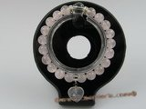 pb012 8mm round Rose Quartz Stretch HEALING POWER bracelet