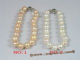 pbr039 8-9mm potato shape pearl bracelet