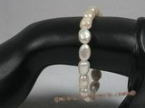 pbr146 stunning 8-9mm nugget pearls stretchy bracelets