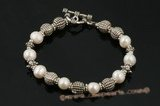 Pbr285 Smart Freshwater Potato Pearl Discount Bracelet