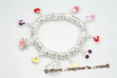 Pdbr007 Silver-tone Ring Stretch 