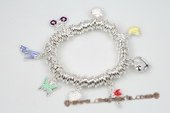 Pdbr029 Smart Silver-tone Jump Ring 
