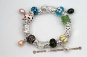 Pdbr044 Stylish Jump Ring and lampwork 