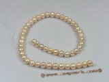 pps013 nature pink 8-9mm potato pearls strand wholesale
