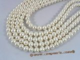 pps024 white shiny potato freshwater pearl strand in 9.5-10.5mm