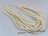rounds06 7.5-8.5mm round freshwater pearl strands in nature white