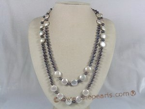 pearl rope neckalce