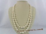 rpn135 48inch white potato pearl with nugget pearl long opera necklace jewelry