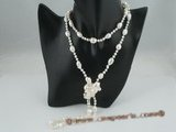 rpn264 Smart large Baroque FreshWater Pearls rope costume necklace