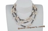 rpn282 Elegant Baroque Cultured FreshWater Pearls long costume necklace