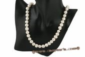 rpn303 Luxury 9.5-10.5mm whorl potato pearl matinee necklace