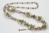 Rpn355 fashion 3-4mm nugget  freshwater pearl and 