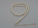 rounds01 wholesale 6-7mm off round freshwater pearl strands