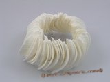 sbr003 15*30mm shell beads stretchy bracelet