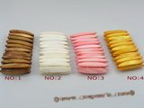 "sbr013 45mm stick shell beads stretchy bracelet wholesale 7.5"" in length"