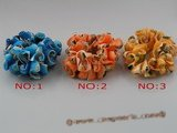 sbr024 7.5 inch stretchy shell bracelets,different color