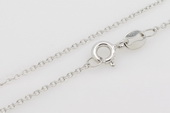 sc008 16inch 925 Sterling silver chain use for pendant