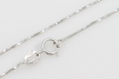 sc014 925 Sterling silver  chain use for pendant 16 inch