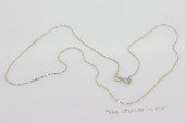 sc039 16inch 925 Sterling silver pendant necklace chain