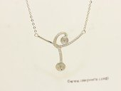 sc092 925 Sterling silver pendant chain