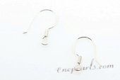 sem001 10 pairs 925silver hook earring mounting