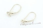sem009 wholesale  925 silver hoop earrings mountings