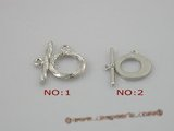 snc018 sterling silver toggle clasp for wholesale