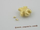 snc030 21mm gold plate starfish design clasp in wholesale