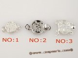 snc041 wholesale sterling silver push-in clasp lay with chinese character