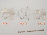 snc049 sterling silver 13mm beads necklace toggle clasp in wholesale price