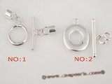snc063 big ring toggle clasp in 925 sterling silver for wholesale