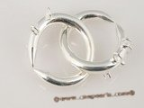 snc064 big circle toggle clasp in 925 sterling silver wholesale