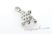 snc122 wholesale sterling silver Chinese knot enhancer mounting