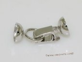 Snc154 Sterling Silver Clip Clasp For Necklace Bracelet Jewelry