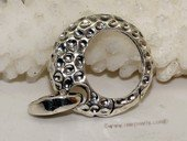 Snc170 Newest Design Sterling Silver Circle Shape Jewelry Clasp