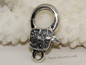 Snc171 Sterling Silver Lobster Necklace Clasp Accessories