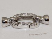 Snc176  Fashion Sterling Silver Necklace Jewelry Spring Clasp