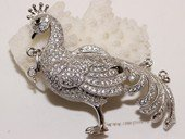 Snc182 Sterling Silver Jewelry Clasp with Zircon Bead