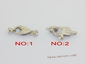 Snc209 Large 9*22mm Sterling Silver Lobster Clasp Or Hand design Clasp