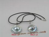 SP032 sterling Mabe pearl shell pendant in wholesale