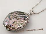 sp124 Trendy Designer 40*60mm Abalone Shell pendant in whoesale