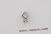 Spm096 18K White Gold Pendant setting with Diamonds