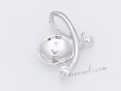 Spm188 Newest Sterling Silver Pendant Tail For Pendant Marking