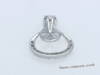 spm192 Newest Sterling Silver Pendant Tail For Pendant Marking