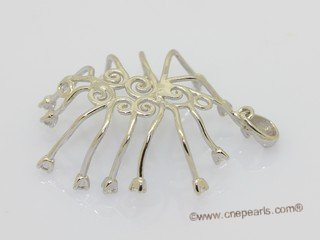spm308 Sterling Silver Pendant Mounting In Wholesale