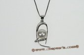 spp222 Trendy Sterling Silver 9-9.5mm Bread Pearl Pendant for Spring 2010